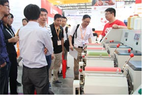 WSF took part in the textile machinery exhibition in Shanghai